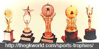 Different types of Sports Trophies