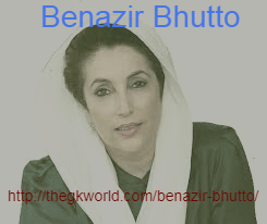 Benazir Bhutto, Pakistani Political